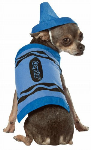 Pets Blue Crayola Crayon Costume - HalloweenCostumes4U.com - Pet Costumes & Accessories - 2