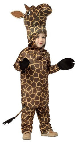 Kids/Toddlers Giraffe Costume - HalloweenCostumes4U.com - Kids Costumes - 2