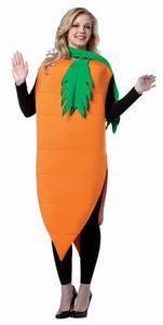 Adults Carrot Costume - HalloweenCostumes4U.com - Adult Costumes