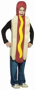 Kids Hot Dog Costume - HalloweenCostumes4U.com - Kids Costumes