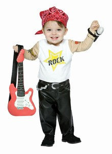 Infant Rockstar Costume - HalloweenCostumes4U.com - Infant & Toddler Costumes