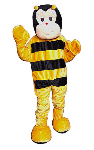 Adults Bumble Bee Mascot Costume - HalloweenCostumes4U.com - Adult Costumes