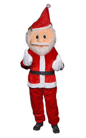 Adults Santa Mascot Costume - HalloweenCostumes4U.com - Adult Costumes