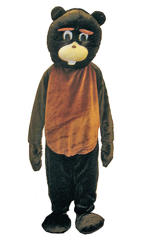 Adults Beaver Mascot Costume - HalloweenCostumes4U.com - Adult Costumes