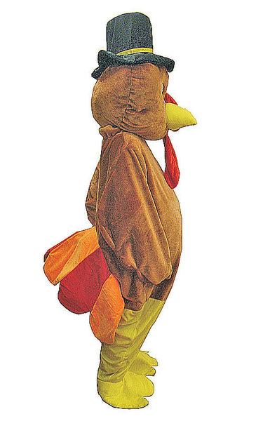 Adults Thanksgiving Turkey Mascot Costume - HalloweenCostumes4U.com - Adult Costumes - 2