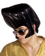 Black King's Pompadour Wig - HalloweenCostumes4U.com - Accessories