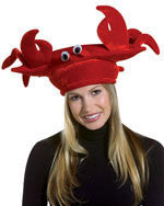 Red Velvet Crab Hat - HalloweenCostumes4U.com - Accessories
