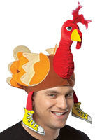 Turkey in Sneakers Hat - HalloweenCostumes4U.com - Accessories