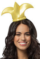 Fleur de Lis Mini Hat Headband - HalloweenCostumes4U.com - Accessories
