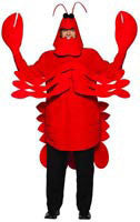 Adults Lobster Costume - HalloweenCostumes4U.com - Adult Costumes