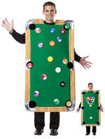 Mens Pool Table Costume - HalloweenCostumes4U.com - Adult Costumes