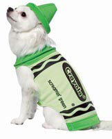 Pets Screamin' Green Crayola Crayon Costume - HalloweenCostumes4U.com - Pet Costumes & Accessories