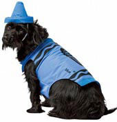 Pets Blue Crayola Crayon Costume - HalloweenCostumes4U.com - Pet Costumes & Accessories - 1