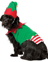 Pets Christmas Elf Costume - HalloweenCostumes4U.com - Pet Costumes & Accessories - 1