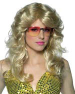 Blonde Dancing Queen Wig - HalloweenCostumes4U.com - Accessories