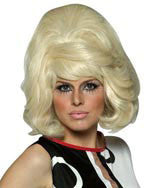 Blonde 70s Mod Wig - HalloweenCostumes4U.com - Accessories
