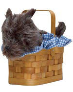 Dog in a Basket Hand Bag
