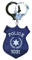 Police Badge Purse - HalloweenCostumes4U.com - Accessories