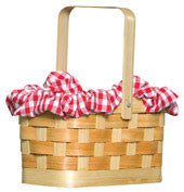 Fairy Tale Costume Basket Purse - HalloweenCostumes4U.com - Accessories