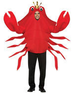 Adults King Crab Costume - HalloweenCostumes4U.com - Adult Costumes