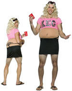 Mens Fat Freshman College Girl Costume - HalloweenCostumes4U.com - Adult Costumes