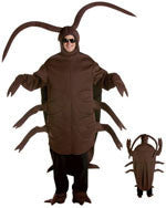 Mens Giant Cockroach Costume - HalloweenCostumes4U.com - Adult Costumes