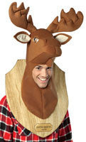 Moose Head Trophy Headpiece - HalloweenCostumes4U.com - Accessories