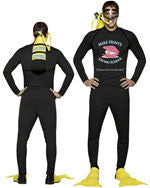 Mens Mike Hunt's Scuba Diver Costume