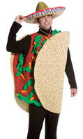Adults Deluxe Taco Costume - HalloweenCostumes4U.com - Adult Costumes