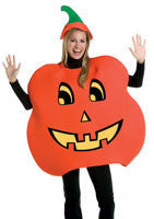 Adults Pumpkin Costume - HalloweenCostumes4U.com - Adult Costumes