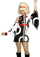 Womens 60's Mod Costume - HalloweenCostumes4U.com - Adult Costumes