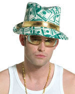Pimp/Rapper Money Hat - HalloweenCostumes4U.com - Accessories