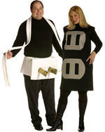 Couples Plug and Outlet Costume Set - HalloweenCostumes4U.com - Adult Costumes