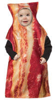 Infant Bacon Costume - HalloweenCostumes4U.com - Infant & Toddler Costumes