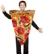 Kids Pizza Slice Costume - HalloweenCostumes4U.com - Kids Costumes