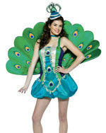 Teens Peacock Costume - HalloweenCostumes4U.com - Adult Costumes