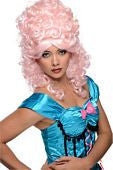 Pink Burlesque Wig - HalloweenCostumes4U.com - Accessories