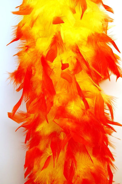 Two Tone Feather Boa - Various Colors - HalloweenCostumes4U.com - Accessories - 12