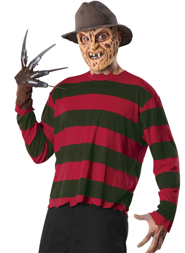 Mens Nightmare on Elm Street Freddy Krueger Costume Kit - HalloweenCostumes4U.com - Adult Costumes
