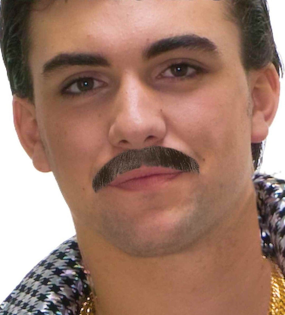 60's Moustache - Various Colors - HalloweenCostumes4U.com - Accessories - 1