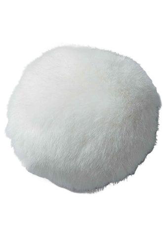 "4"" Plush Fluffy Bunny Tail - Various Colors"