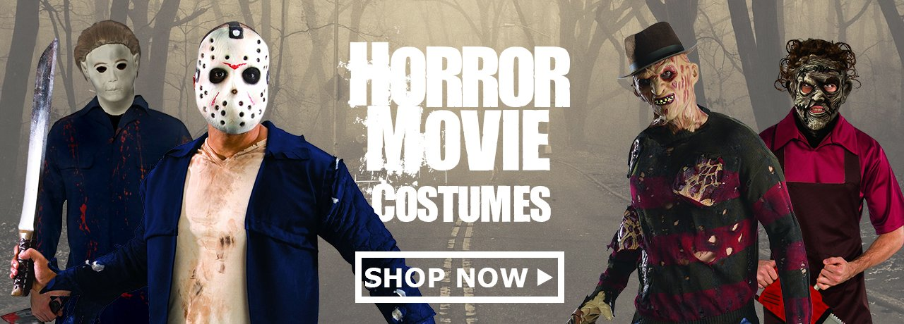 Scary Costumes & Accessories from HalloweenCostumes4U.com