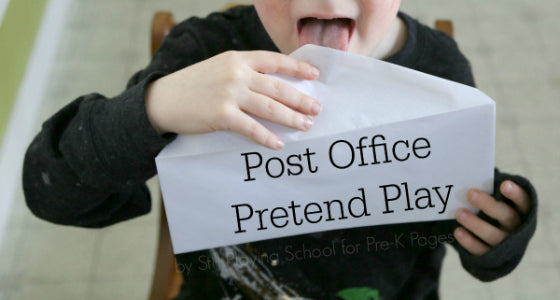 Summer Break Learning Resources - Preschool, Post Office Pretend Play