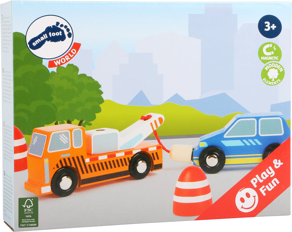 Small Foot World Tow Service Set