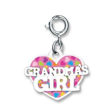 Charm It! Grandma's Girl Heart-Nature's Nook Children's Toys & Books