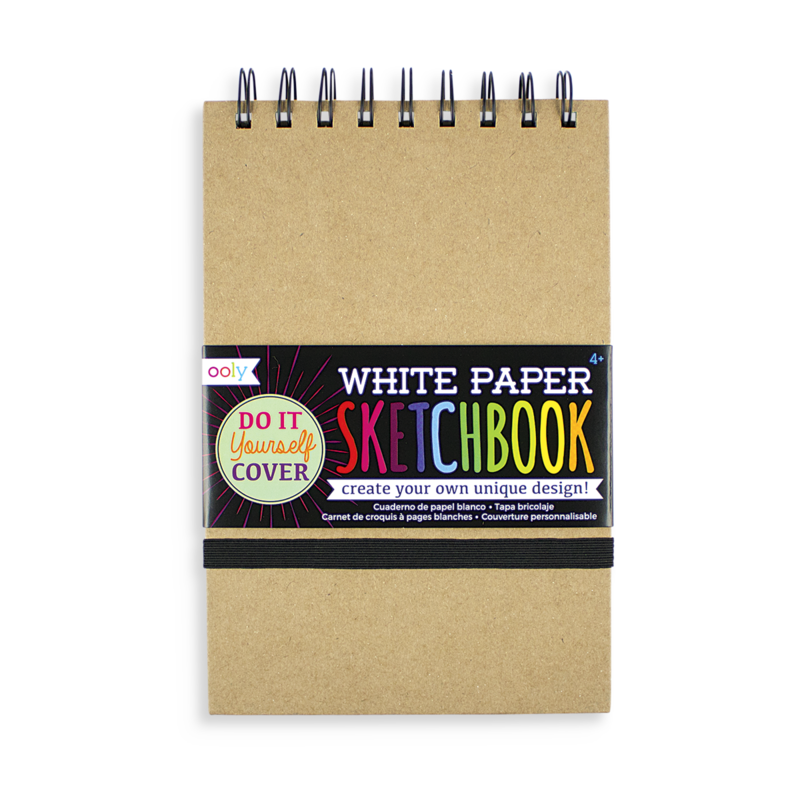 Small White Paper Sketchbook
