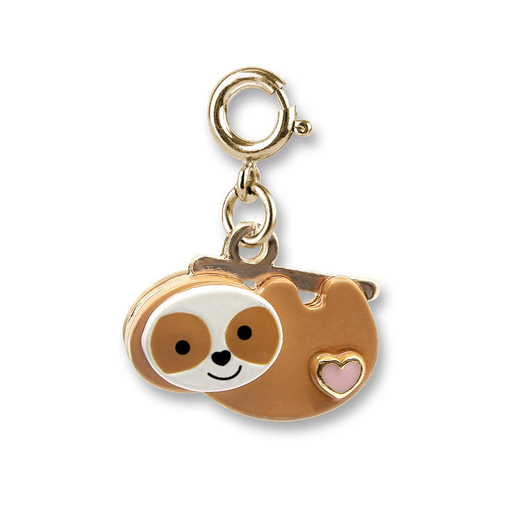 Charm It! Gold Sloth Charm