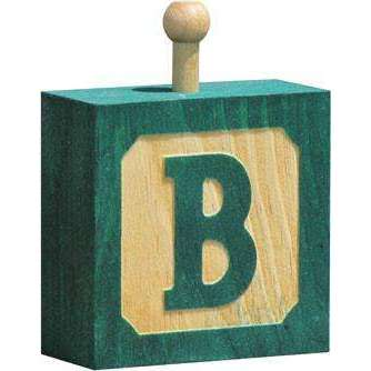 Hang-A-Name Letter Blocks B