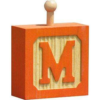 Hang-A-Name Letter Block M