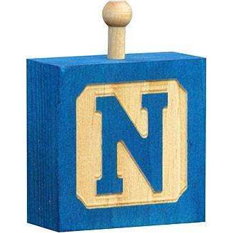 Hang-A-Name Letter Block N